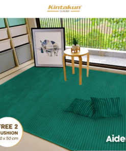 Karpet Selimut Free 2 Cushion - Aiden | Luxury