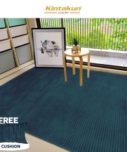 Karpet Selimut Free 2 Cushion - Ashly | Luxury