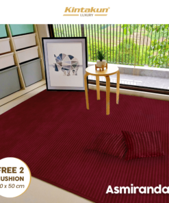Karpet Selimut Free 2 Cushion - Asmirandah | Luxury