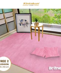 Karpet Selimut Free 2 Cushion - Britney | Luxury