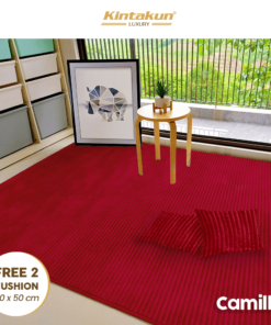 Karpet Selimut Free 2 Cushion - Camille | Luxury