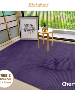 Karpet Selimut Free 2 Cushion - Cheryl | Luxury