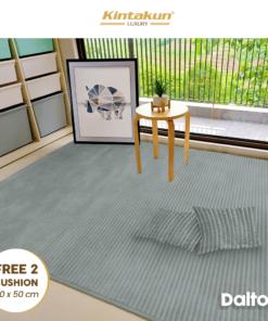 Karpet Selimut Free 2 Cushion - Dalton | Luxury