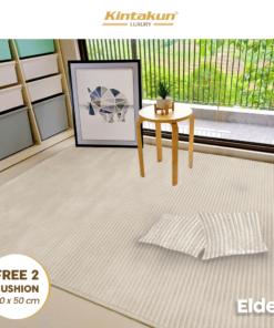 Karpet Selimut Free 2 Cushion - Elder | Luxury