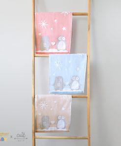 Cotton Baby Towel 25 x 50 Penguin | KINTAKUN BABY