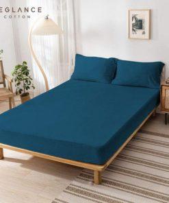 Sprei Beglance Knitting Cotton Moroccan Blue | BEGLANCE