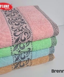 Cotton Bath Towel Brenna 70 x 140 cm   KINTAKUN