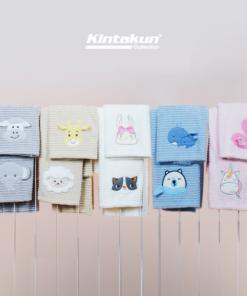 Bamboo Fiber Baby Blanket 110 x 110 | KINTAKUN BABY