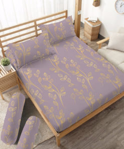 Sprei Fitted DLUXE GOLD Feder | D'LUXE