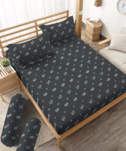 Sprei Fitted DLUXE GOLD Dandelion | D'LUXE
