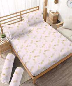 Sprei Fitted DLUXE GOLD Loreta | D'LUXE