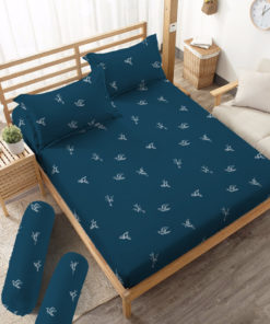 Sprei Fitted DLUXE GOLD Nathan | D'LUXE