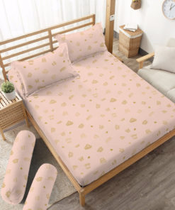 Sprei Fitted DLUXE GOLD Prince | D'LUXE